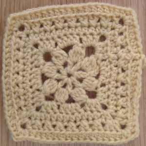 Granny square - walled garden
