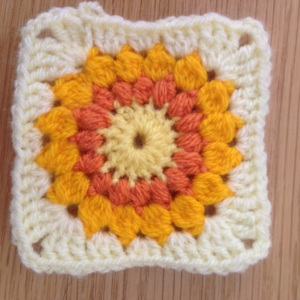 Sunburst - granny square